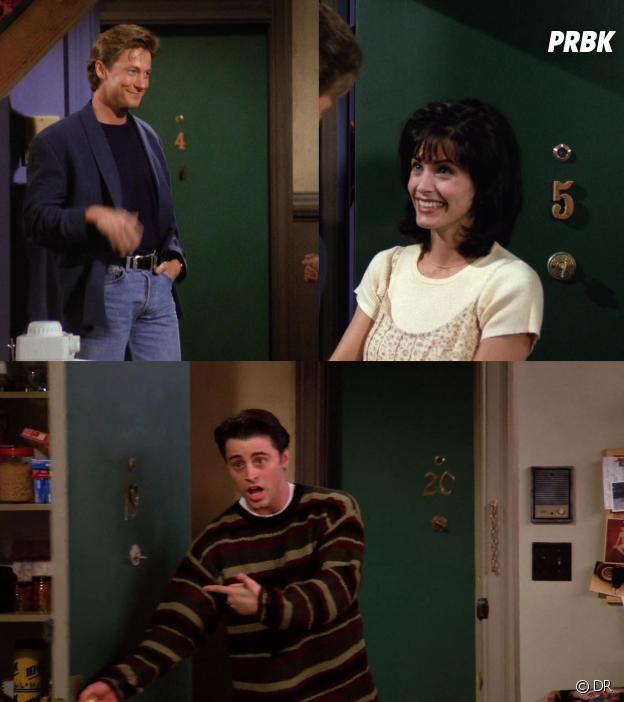 10 détails que vous n'avez (peut-être) pas remarqué dans Friends : les numéros des appartements ont changé