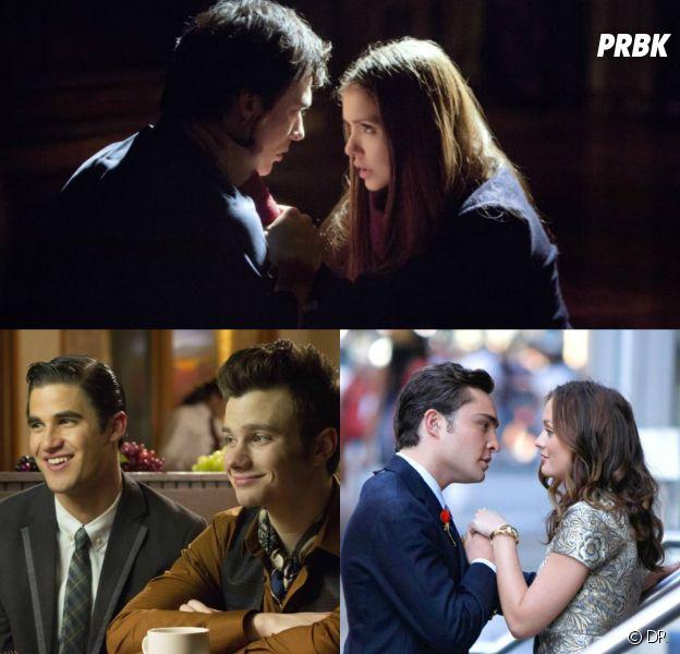 The Vampire Diaries, Glee, Gossip Girl... : 20 baisers cultes de séries pour la Saint Valentin