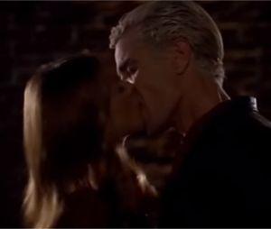 Les baisers cultes des séries : Buffy et Spike dans Buffy conter les vampires