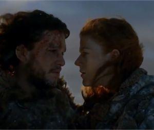 Les baisers cultes des séries : Jon Snow et Ygritte dans Game of Thrones