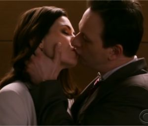 Les baisers cultes des séries : Alicia et Will, The Good Wife