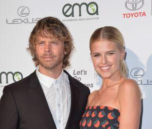 Erric Christian Olsen et sa femme Sarah Wright