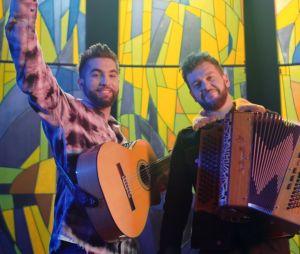 """Clip """"Que Dieu me pardonne"""" : Kendji Girac et Claudio Capéo unis sur un morceau entraînant"""