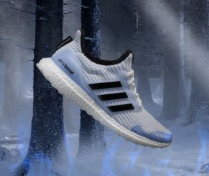 adidas x Game of Thrones : la Ultraboost 4.0 des Marcheurs Blancs.