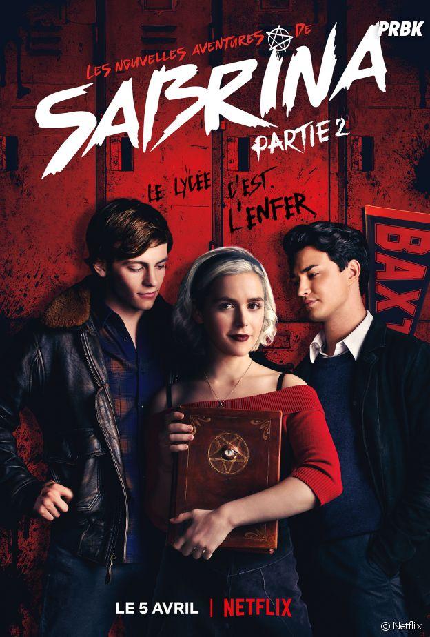 Les Nouvelles aventures de Sabrina saison 2 : l'affiche officielle