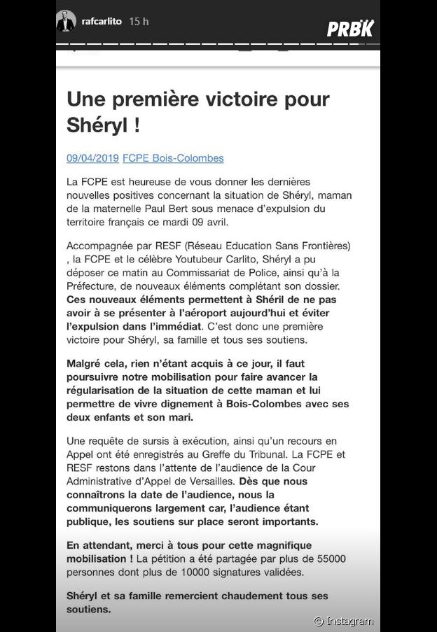 Carlito (McFLy & Carlito) : première victoire pour Shéryl, la mère de famille menacée d'expulsion