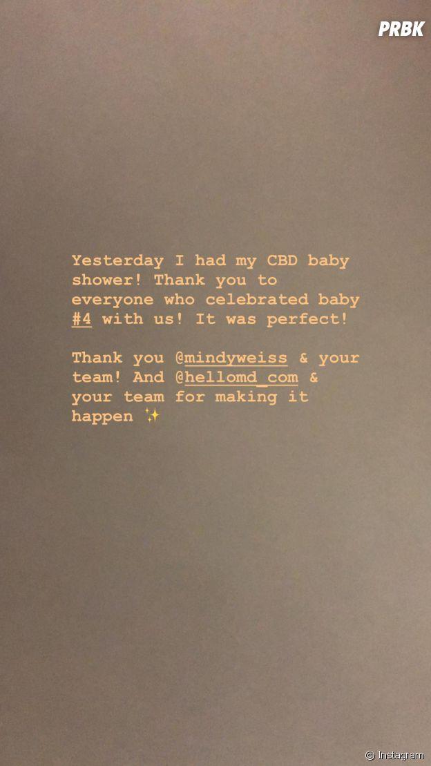 Kim Kardashian bientôt maman d'un 4ème bébé : elle dévoile sa baby shower et la date de l'accouchement de sa mère porteuse.