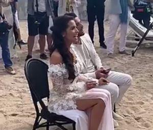 Manon Marsault et Julien Tanti : après la mairie, leur mariage continue sur la plage