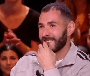 Karim Benzema en larmes sur le plateau de Quotidien