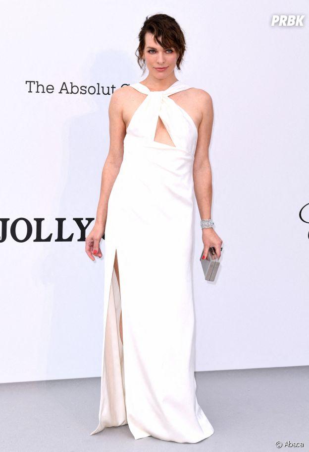 Festival de Cannes 2019 : Milla Jovovich au gala de l'amfAR