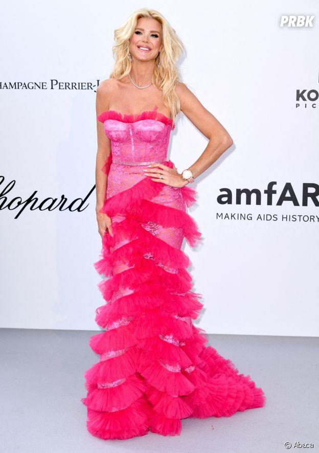 Festival de Cannes 2019 : Victoria Silvsted au gala de l'amfAR