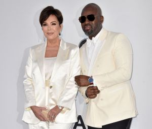 Festival de Cannes 2019 : Kris Jenner et Corey Gamble au gala de l'amfAR