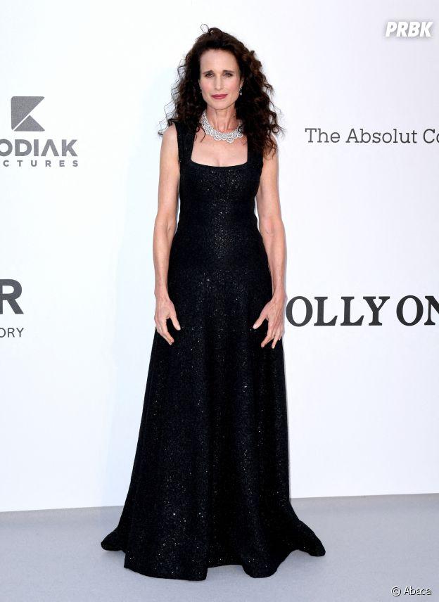 Festival de Cannes 2019 : Andie MacDowell au gala de l'amfAR