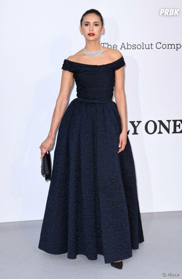 Festival de Cannes 2019 : Nina Dobrev au gala de l'amfAR