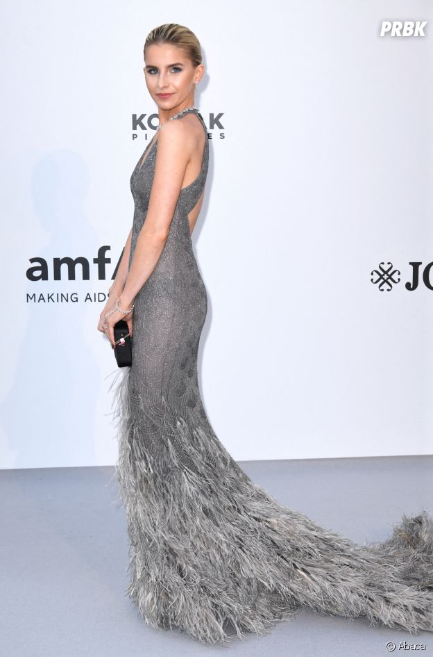Festival de Cannes 2019 : Caroline Daur au gala de l'amfAR
