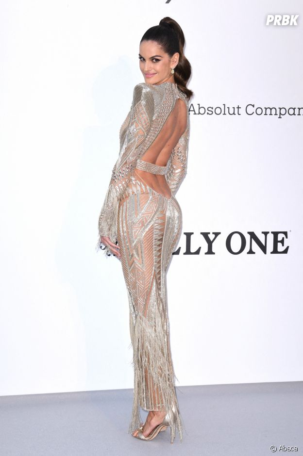 Festival de Cannes 2019 : Izabel Goulart au gala de l'amfAR