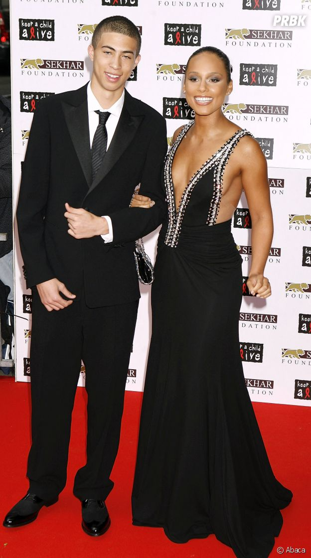 Alicia Keys et son demi-frère
