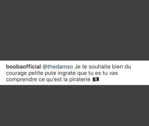 "Booba insulte violemment Damso de ""petite p*te ingrate"""