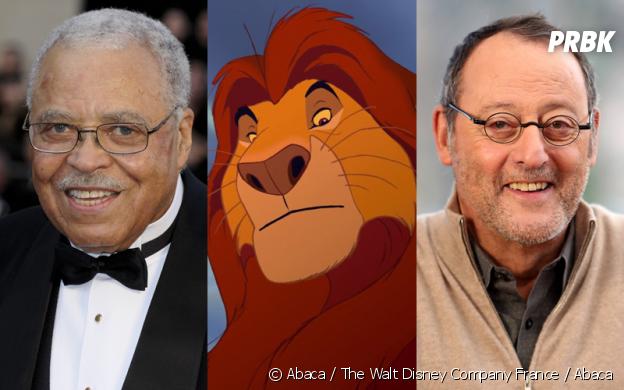 Le Roi Lion : James Earl Jones et Jean Reno, les doubleurs de Mufasa