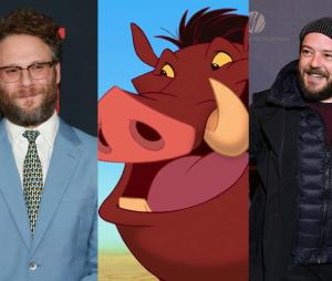 Le Roi Lion : Seth Rogen et Alban Ivanov, les doubleurs de Pumbaa