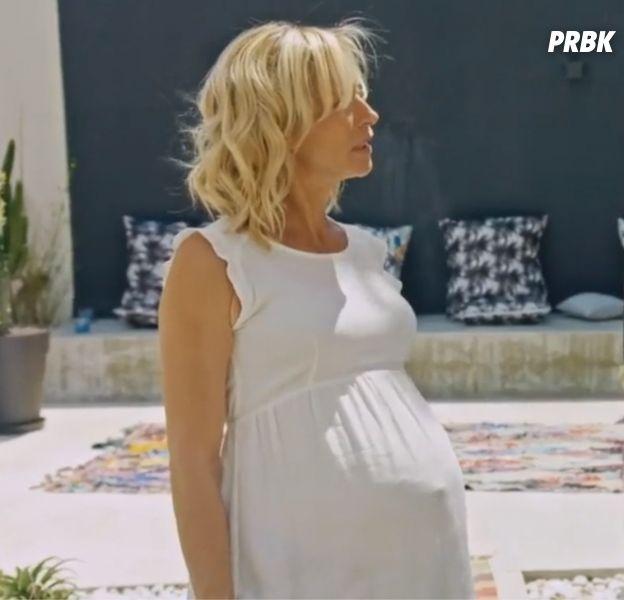Plus belle la vie : Céline enceinte ? Non, elle fait semblant...