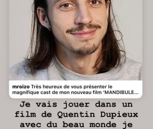 Roméo Elvis et le Palmashow réunis dans le prochain film de Quentin Dupieux : le rappeur réagit