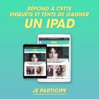 Tente de gagner un iPad avec Purebreak en répondant à cette étude