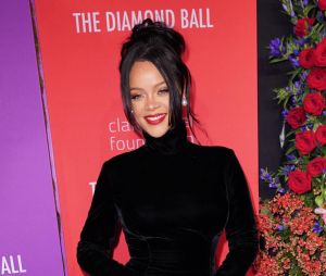 Rihanna sur le tapis rouge du Diamond Ball le 12 septembre 2019