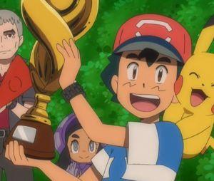 Pokémon : il l'a fait, après 22 ans d'échecs, Sacha est enfin le meilleur dresseur