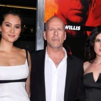 Photos ... Bruce Willis et ses potes d'Hollywood défilent pour son nouveau film