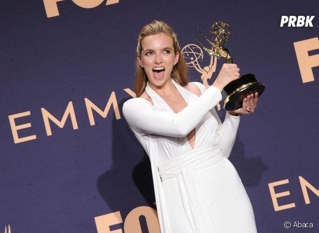 Jodie Comer récompensée du Emmy Award de la meilleure actrice dans une série dramatique pour Killing Eve