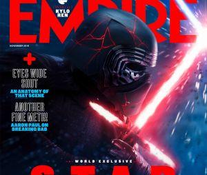 Star Wars 9 : Kylo Ren en Une de Empire Magazine