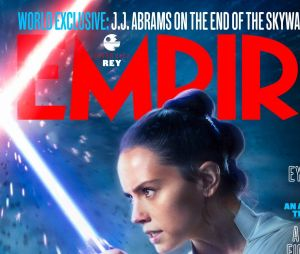 Star Wars 9 : Rey (Daisy Ridley) en Une de Empire Magazine