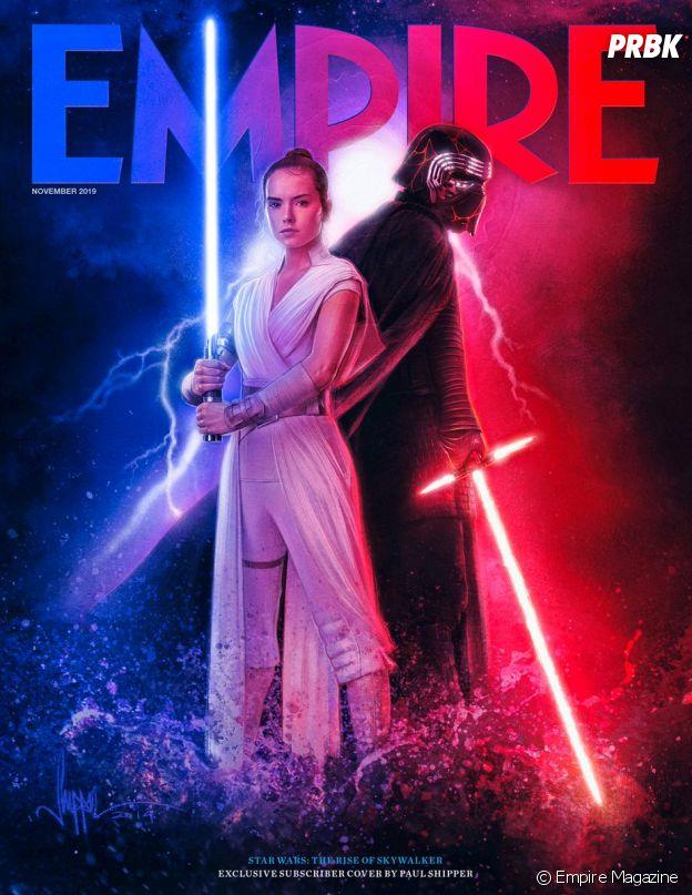 Star Wars 9 : l'une des Une de Empire Magazine
