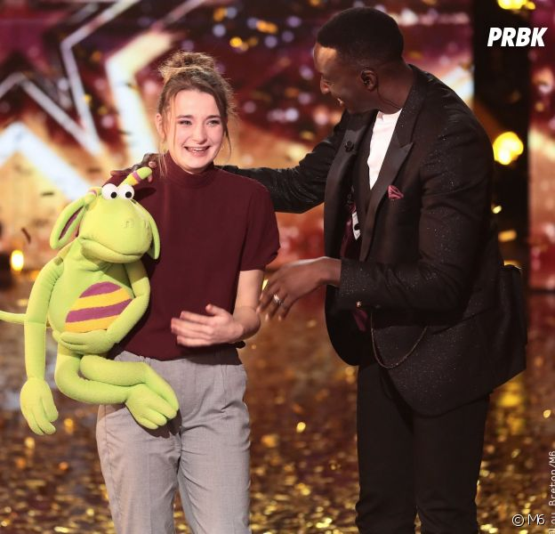 La France a un incroyable talent : Ahmed Sylla donne son Golden Buzzer à la ventriloque Capucine alias Cas Pucine sur YouTube