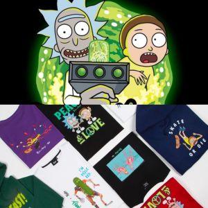 TEALER x Rick & Morty : une collaboration colorée et décalée