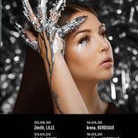 Eva Queen : son album est disque de platine, elle annonce une tournée des Zéniths