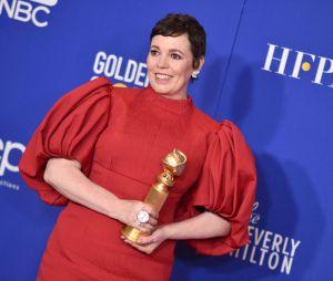 Olivia Colman récompensée aux Golden Globes 2020 le 5 janvier à Los Angeles