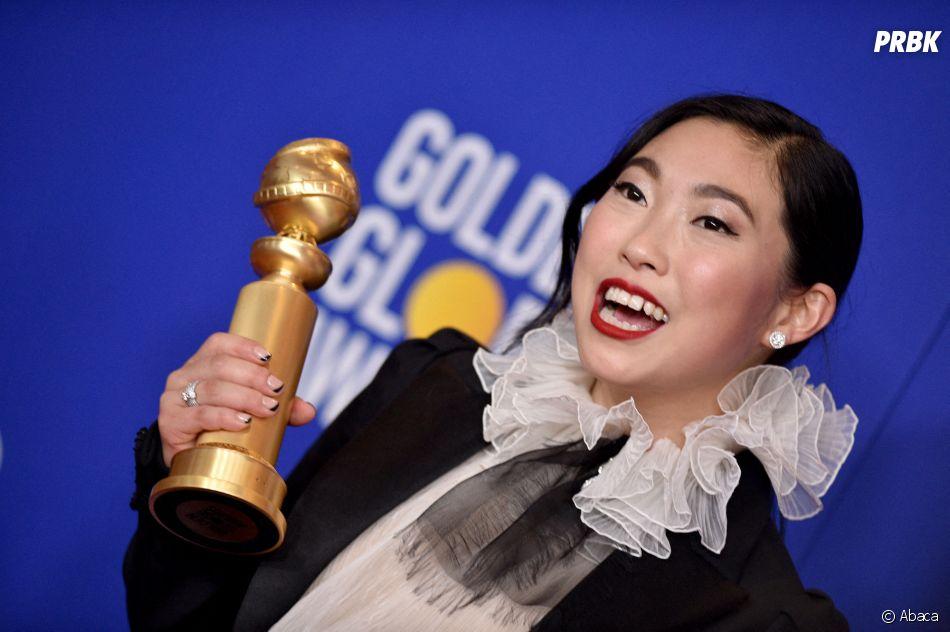 Awkwafina récompensée aux Golden Globes 2020 le 5 janvier à Los Angeles
