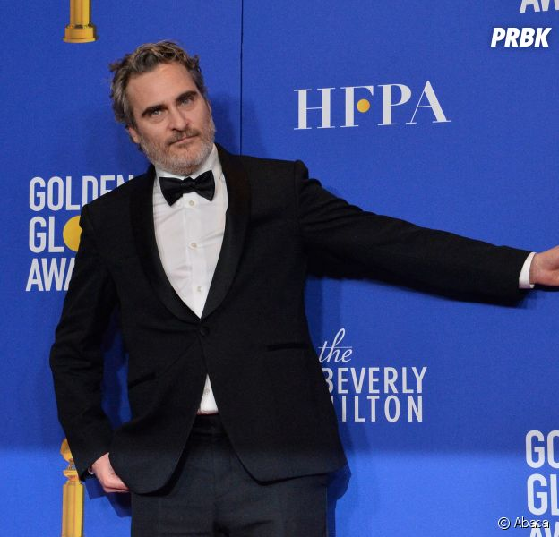 Joaquin Phoenix récompensé aux Golden Globes 2020 le 5 janvier à Los Angeles