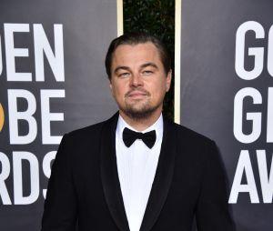 Leonardo DiCaprio sur le tapis rouge des Golden Globes 2020 le 5 janvier à Los Angeles