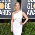 Reese Witherspoon sur le tapis rouge des Golden Globes 2020 le 5 janvier à Los Angeles