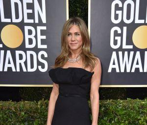 Jennifer Aniston sur le tapis rouge des Golden Globes 2020 le 5 janvier à Los Angeles