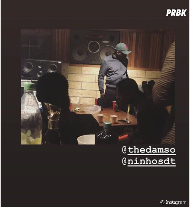Damso et Ninho réunis en studio