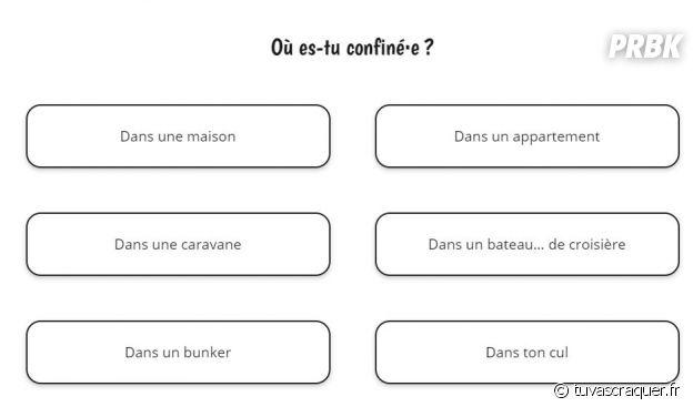 tuvascraquer.fr : le test drôle pour sourire pendant le confinement