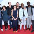 Azize Diabaté et les acteurs des Bracelets rouges