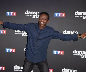 Azize Diabaté lors de la conférece de presse de Danse avec les stars
