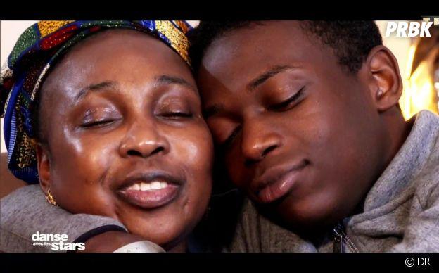 Azize Diabaté et sa maman dans Danse avec les stars