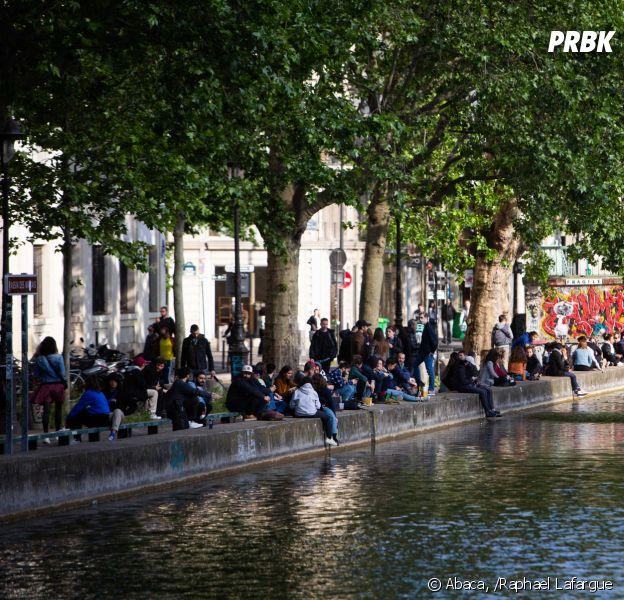 Déconfinement : le Canal Saint-Martin pris d'assaut à Paris, les twittos ragent de voir ces images et Christophe Castaner a décidé d'interdire l'alcool sur les quais