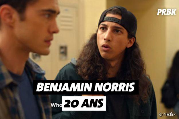 Mes premières fois : quel âge a Benjamin Norris (Trent) ?